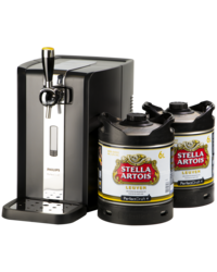 Bierzapfanlagen - Party Pack PerfectDraft - Zapfanlage + 2 Stella Artois