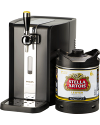 Spillatore per birra - Party PerfectDraft - Spillatrice e 1 Fusto Stella Artois