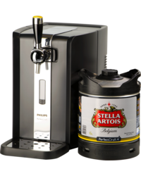 Thuistap - Stella Artois PerfectDraft 6L + Machine deal