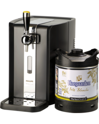 Thuistap - Hoegaarden Wit PerfectDraft 6L + Machine deal