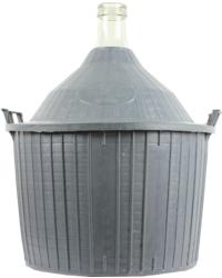 Imbottigliamento -  Damigiana con cesto da 54 litri. Collo normale