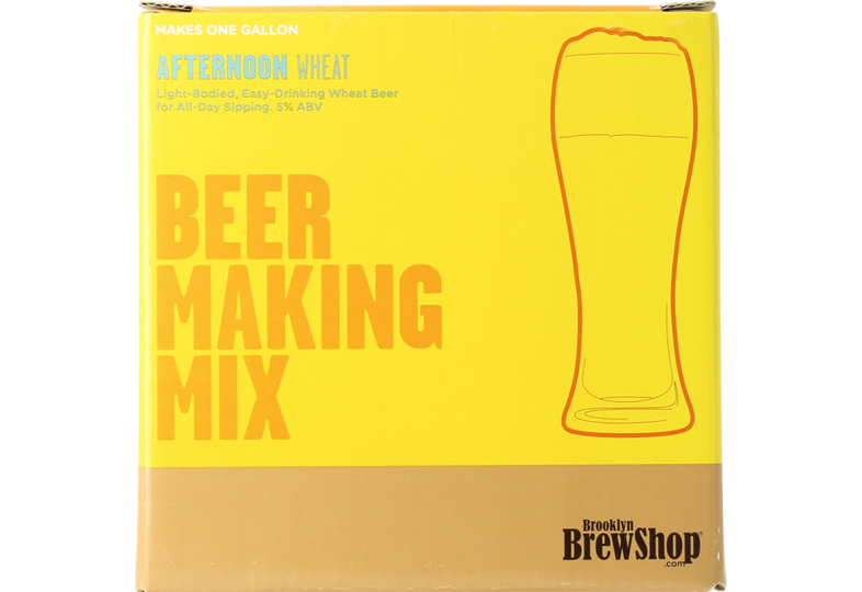 Accueil - Recharge Brooklyn Brew kit Afternoon Wheat