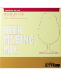 Kits de recetas 4L - Recarga para el kit Brooklyn Brew Bruxelles Blonde