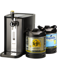 Beer dispensers - Party Pack PerfectDraft - Beerpump + 1 Leffe & 1 Hoegaarden Kegs