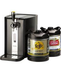Beer dispensers - Party Pack PerfectDraft - Beerpump + 1 Leffe & 1 Stella Kegs