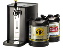 Tireuse à bière - Party Pack PerfectDraft Leffe/Stella Artois