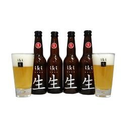 Bouteilles - 4 Iki Beer + 2 verres