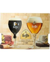 Accessori e regali - Confezione Leffe (4 birre 2 bicchieri)