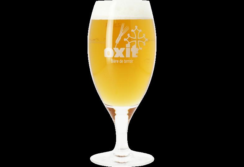Bierglazen - Glas Oxit voetglas - 25 cl