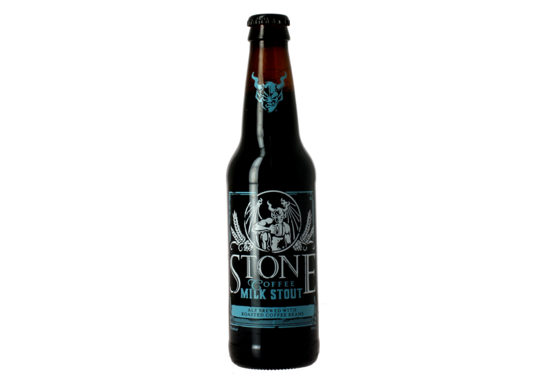 Bottled beer - Stone Coffee Milk Stout