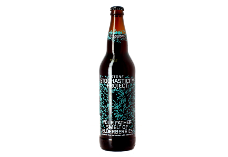 Bottled beer - Stone Stochasticity Project Your Father Smelt of Elderberries