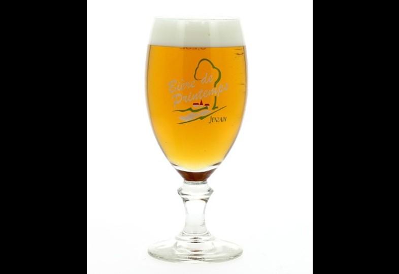 Verres à bière - Verre Jenlain Bière de Printemps