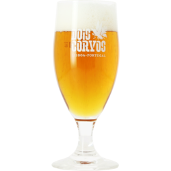 Beer glasses - Dois Corvos stem beer glass - 20 cl