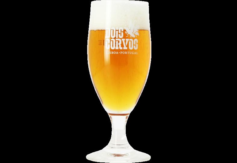 Ölglas - Dois Corvos stem beer glass - 20 cl