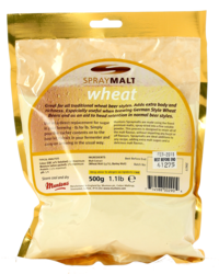 Brewing additives - Muntons wheat SprayMalt powdered malt extract 12 EBC - 500g