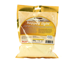 Brewing additives - Muntons Hopped Light SprayMalt powdered malt extract - 500g