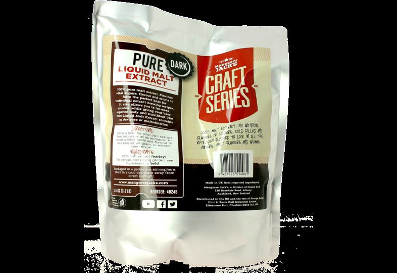 Additifs de brassage - Extrait malt liquide foncé Mangrove Jack's 1,5 kg