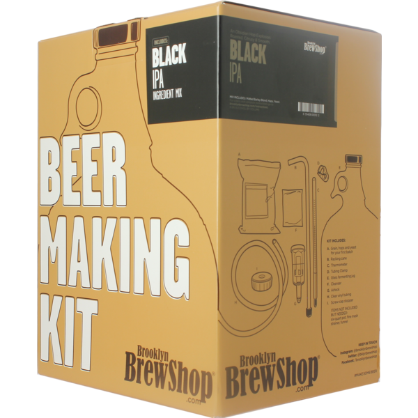 Brooklyn Brew Kit Black IPA