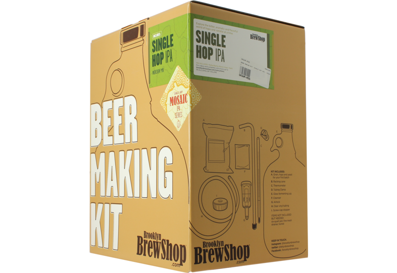 Beer Kit - Brooklyn Brew Kit Mosaic Single Hop IPA