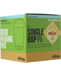 - Navulling brouwpakket Brooklyn Brew Kit Mosaic Single Hop IPA
