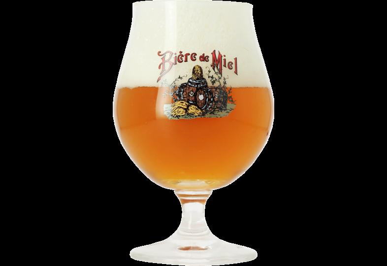Bicchiere - bicchiere Bière di Miel Bio - 33 cl