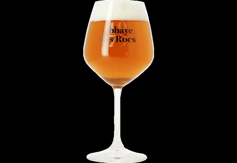 Verres à bière - Verre Abbaye des Rocs 1979 - 33 cl