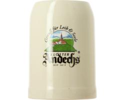 Bierglazen - Bierpul en grès Andechs